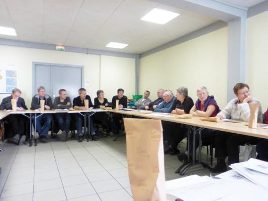 Assemblée de secteur Rhone Alpes (2)