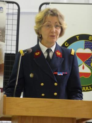 Départ de la Générale Anne SAILLIOL
