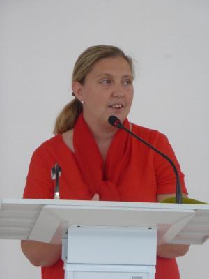 Stéphanie Decoopman directrice de l'Hôpital R .Debré