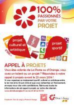 Affiche appel à projets 2014